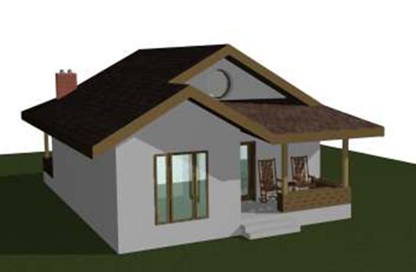 Proiect de casa parter 80 mp