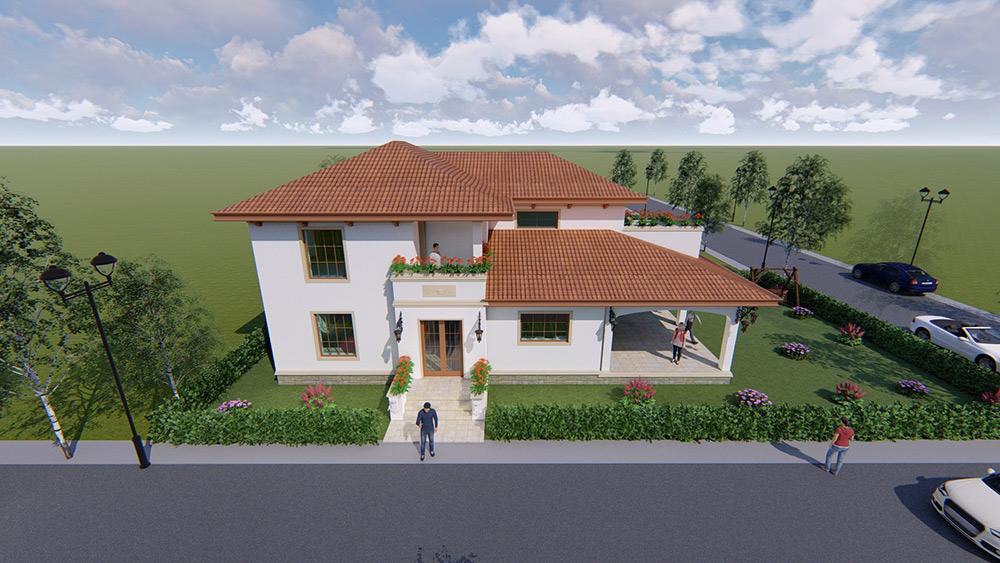 Proiect de rezistenta casa P+1