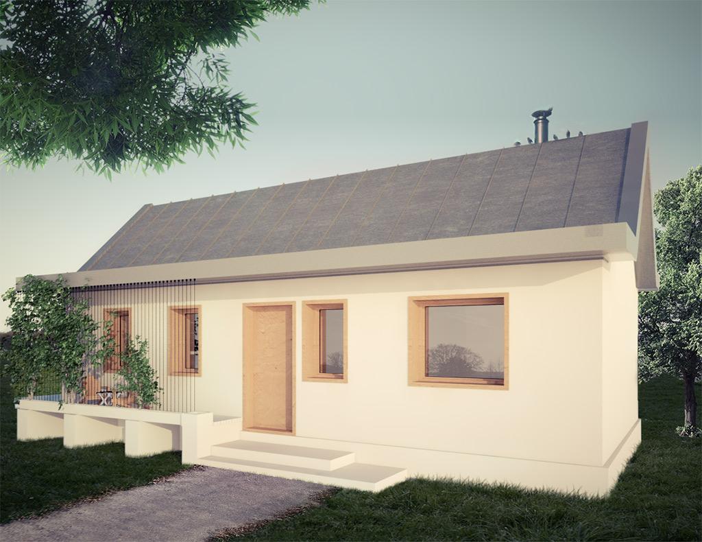 Proiect Casa Ieftina parter si mansarda