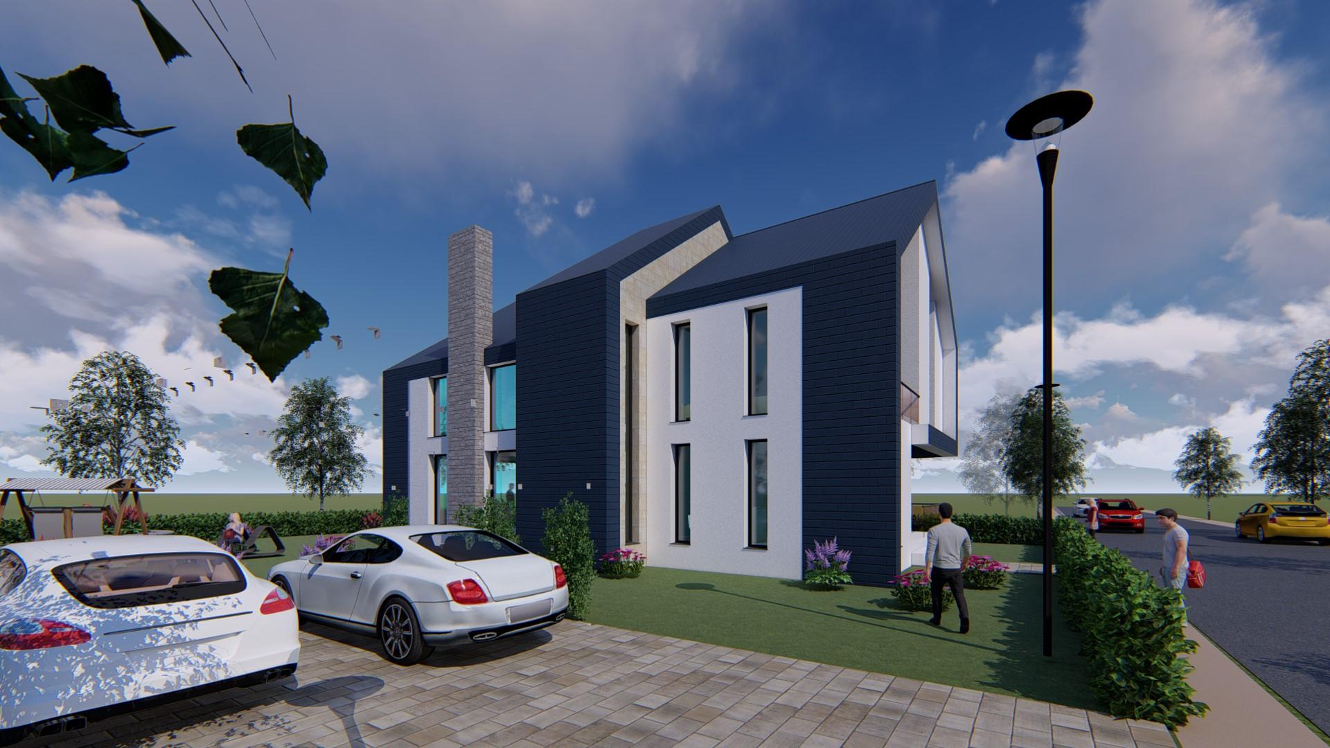 Proiect de rezistenta casa P+1 si mansarda